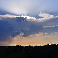 Storm approaching, August 2, 2013 - Copyright Gavin Quinney.  All rights reserved.