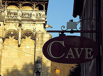Wine Cave in Beaune