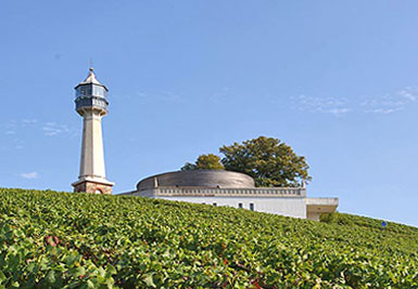 The Lighthouse Museum of the Vines at Verzenay - Photo courtesy of http://www.lepharedeverzenay.com/.  All rights reserved.