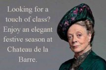 Maggie Smith of Downton Abbey