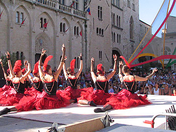Narbonne Dancers - Copyright Marlane O'Neill 2009.  All rights reserved.