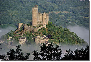 Najac Castle. Photo © Garth Bailey/photosbygar 2008-2012.  All rights reserved.