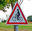 Caution: Watch for Cyclists