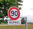 Remember this speed limit