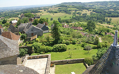 View from Saint-Robert, Corrèze.  Copyright Cold Spring Press.  All rights reserved.e