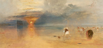 Turner, Calais Sands at Low Water